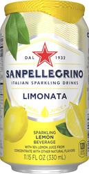 Italian Sparkling Drinks Limonata Blik
