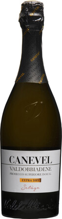 5255000 Canevel Canevel Prosecco Valdobbiadene DOCG Extra Dry staand