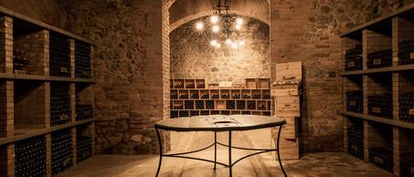 CastellodellaSala wijnkelder